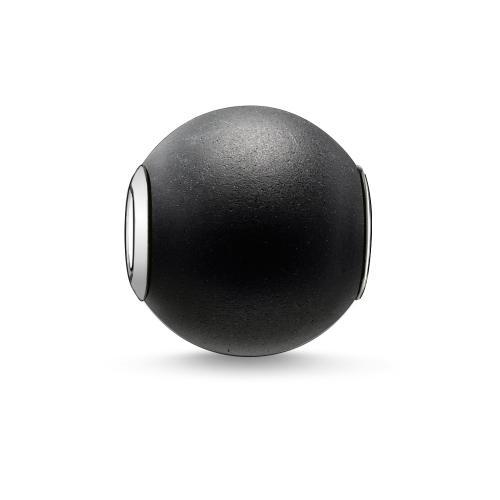 Thomas Sabo KARMA BEAD Obsidian mattiert