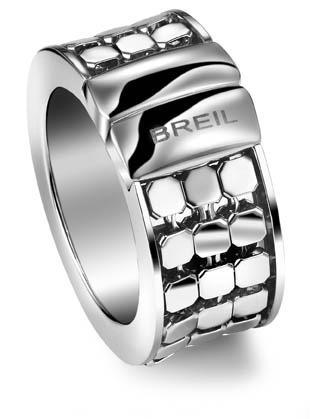 Breil Steel Silk Ring Gr. 56