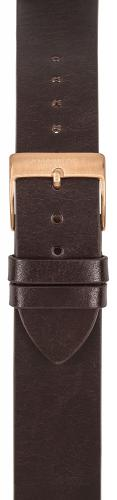 Watchpeople Armband 18mm Leder braun