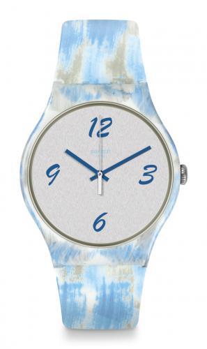 Swatch Uhr Bluquarelle