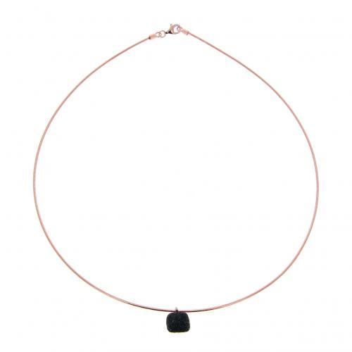 Pesavento Halskette rosé Polvere schwarz
