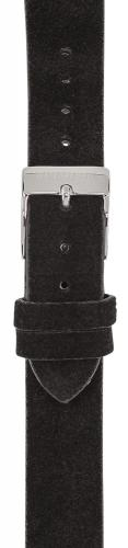 Watchpeople Armband 16mm Leder schwarz