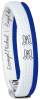 W-Armband Michael Blau -175mm