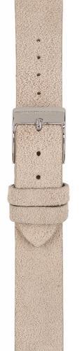 Watchpeople Armband 16mm Leder Nubuk grau