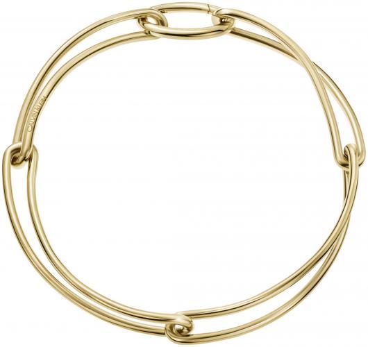 CALVIN KLEIN Armband Champ Gold