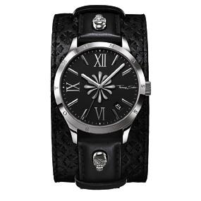 Thomas Sabo Watches 41,TS WA Armbanduhr, rund, Quarz,ZB schwarz