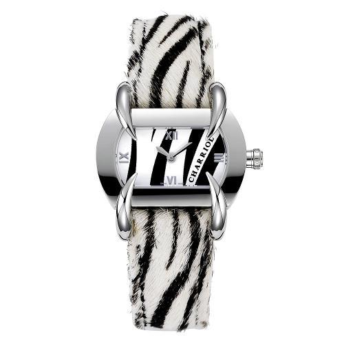 Charriol-Uhr im Zebradesign