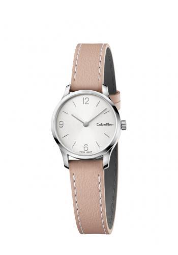 CALVIN KLEIN Uhr mit Lederband beige