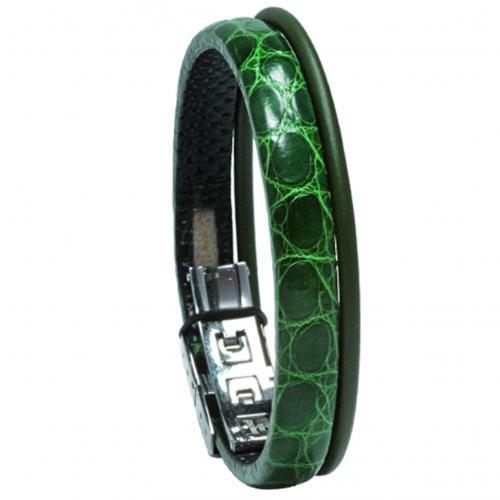 Wendestein Armband Djungle grün