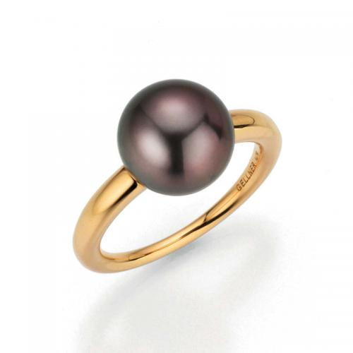 Gellner Ring Modern Classic mit Marutea cherry Perle