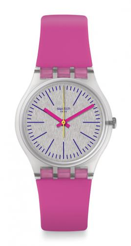 Swatch Uhr Fluo Pinky