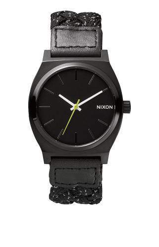 Nixon Time Teller, Black / Reflective Woven