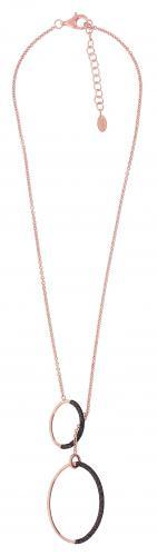 Pesavento Halskette Shiny rosé Polvere marrone