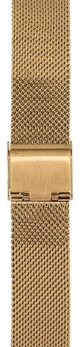 Watchpeople Armband 16mm Milanaise goldfarben