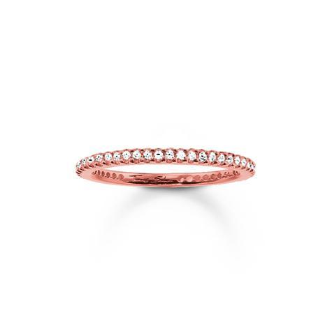 Thomas Sabo Sterling Silver Ring, Gr. 52 / RG