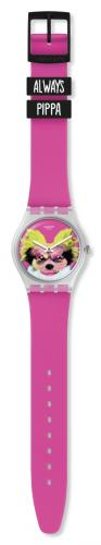 Swatch Uhr Pinkapippa