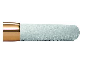 Endless Jewelry Lederband Weiß/Gelbgold 20 cm