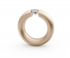 """Niessing Spannring """"Oval"""" 0,25ct.TW/VS,"""