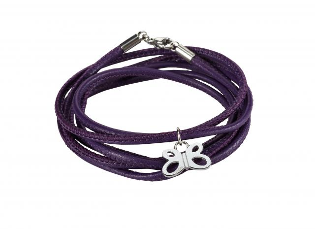 Beka&Bell Armband Aberdeen lila