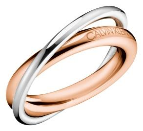 CALVIN KLEIN Ring Double Bicolor