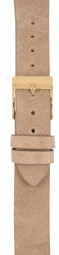 Watchpeople Armband 16mm Leder graubraun