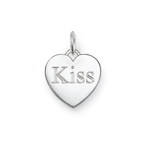 "Thomas Sabo Sterling Silver Anhänger ""Kiss"""