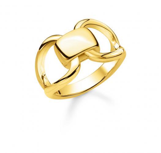 Thomas Sabo Ring 925/- Sterlingsilber verg.GG