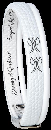 W-Armband Gabriel Weiss -165mm