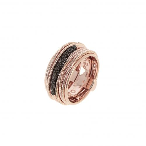 Pesavento Ring Shiny rosé Polvere marrone