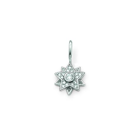 Thomas Sabo 925 Sterlingsilber/ syn. Zirkonia weiss Anh,nger
