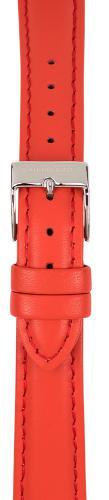Watchpeople Armband 16mm Leder mit Naht rot