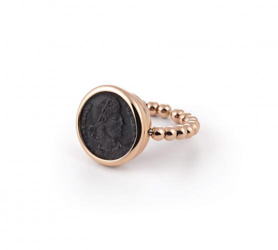 Al Coro Ring 750/-RG 1 Coin