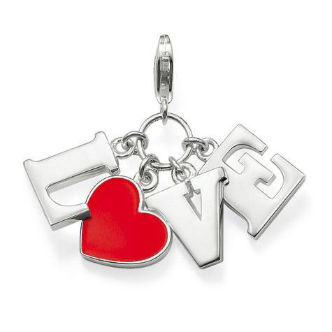 Thomas Sabo Sterling Silver Anhänger Love