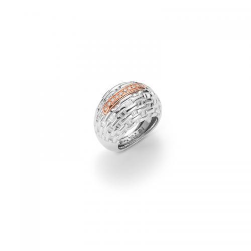 Fope Ring mit Diamanten AG/PD