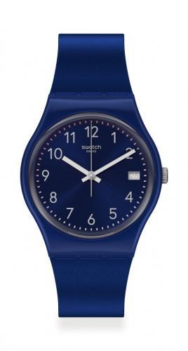 Swatch Silver in Blue