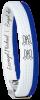 W-Armband Michael Blau-165mm