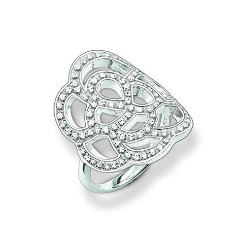 Thomas Sabo Sterling Silver Ring Gr. 54