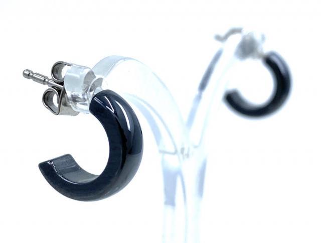 Boccia Ohrstecker Ring-Creole