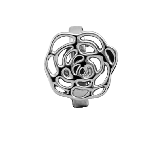 Endless Jewelry Big Rose Silber