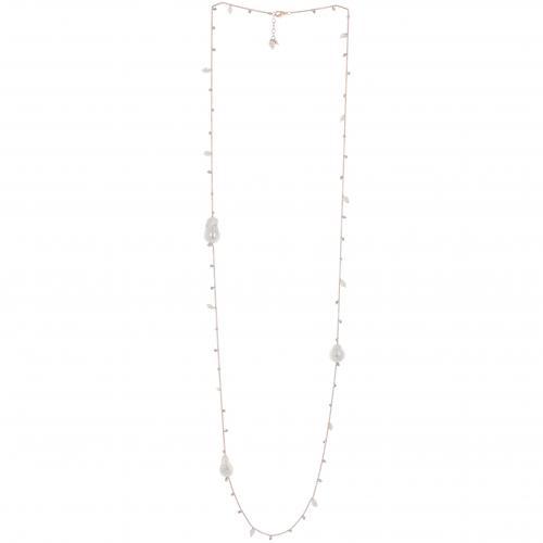 Pesavento Halskette Shiny rose SSW Perle