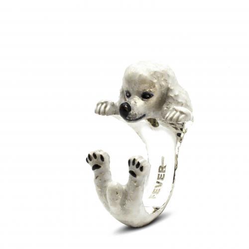Dog Fever Ring Labradoodle beige