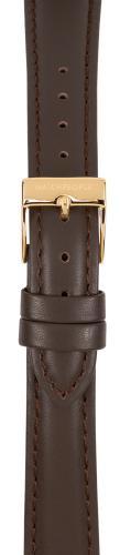Watchpeople Armband 16mm Leder mit Naht