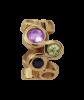 Endless Jewelry Multi Gemstones Gelbgold